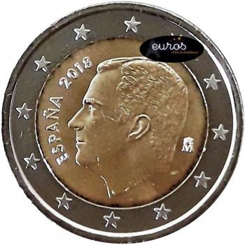 2 euros annuelle ESPAGNE 2018 - Pièce non commémorative