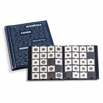 Album pour 200 monnaies sous étuis carton