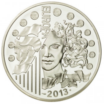 10 euros argent BE Europa...