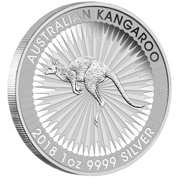 AUSTRALIE 2018 - Le Kangourou - 1oz Argent  - Perth Mint