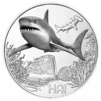 3 euros Autriche 2018 - Le  Requin - Série animaux 7/12