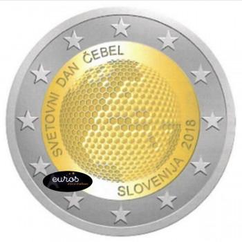 2 euros SLOVENIE 2018 - Journée Mondiale des Abeilles