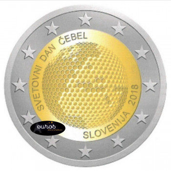2 euros SLOVENIE 2018 -...