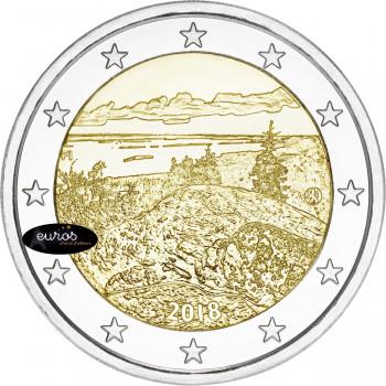 2 euros commémorative FINLANDE 2018 - Parc National de Koli