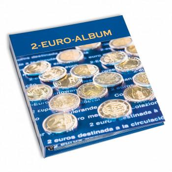 Album NUMIS pour pièces de 2 euros commémoratives de l'année 2016 - Tome 1 à 6 - LEUCHTTURM