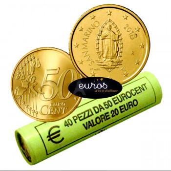 0,50 euro ou 50 cent SAINT MARIN 2018 - Oeuvre d'Emilio RETROSI