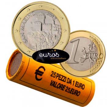 1 euro SAINT MARIN 2018 - La Deuxième Tour - UNC