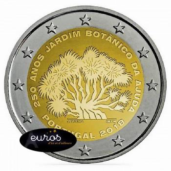 2 euros commémorative PORTUGAL 2018 - Jardin Botanique