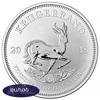 AFRIQUE du SUD 2018 - Krugerrand - 1oz argent Bullion