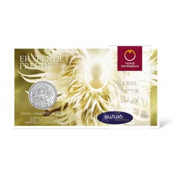 10 euros commémorative AUTRICHE 2018 - L'Ange Uriel - Argent BU 925/1000
