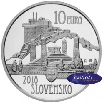 10 euros SLOVAQUIE 2018 - 150ème anniversaire naissance de Dušan Samuel Jurkovič - Belle Epreuve