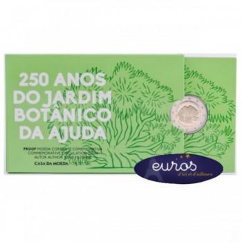 2 euros commémorative Belle Epreuve PORTUGAL 2018 - Jardin Botanique