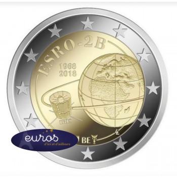 2 euros commémorative BELGIQUE 2018 - ESRO-2B, Premier Satellite Européen - UNC