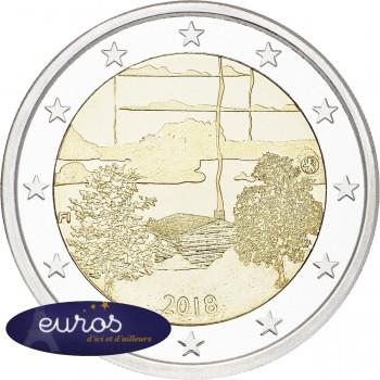 2 euros commémorative FINLANDE 2018 - Culture du Sauna Finlandais - UNC