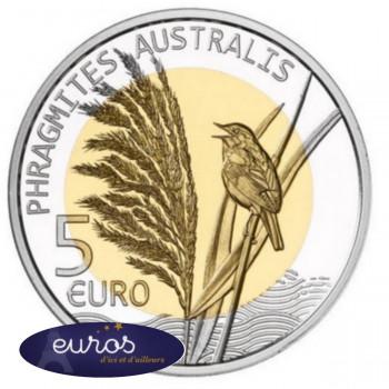 5 euros commémorative LUXEMBOURG 2018 - Le Roseau
