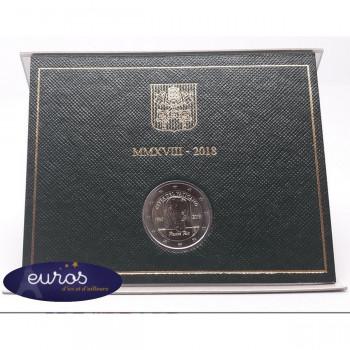 2 euros commémorative VATICAN 2018 - Padre Pio - Brillant Universel