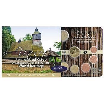 Set BU SLOVAQUIE 2018 - UNESCO, Eglises en Bois
