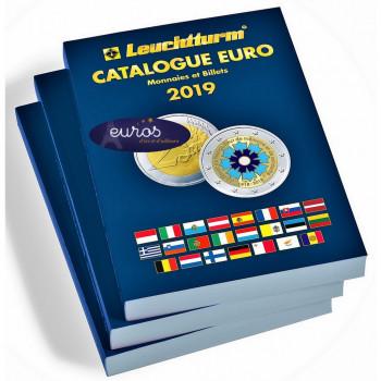 Catalogue EURO 2019, cotation des pièces et billets - Nouvelle édition 2019 - LEUCHTTURM