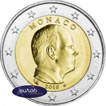 2 euros annuelle MONACO 2018 - Prince Albert