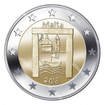 2 euros commémorative MALTE 2018 - Héritage Culturel - UNC