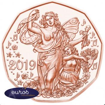 5 euros commémorative AUTRICHE 2019 en cuivre - Nouvelle Année