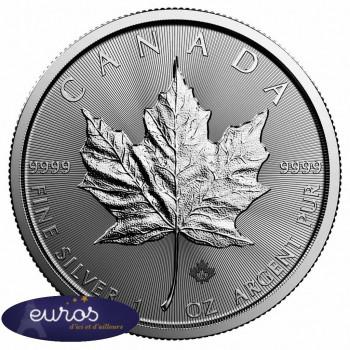 CANADA - Maple Leaf 2019 - 5 dollars CAD - 1 Oz - Argent 99,99‰ - Bullion Coin