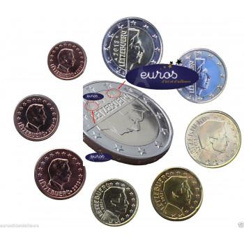 Série 1 cent à 2 euros Luxembourg 2019 - UNC