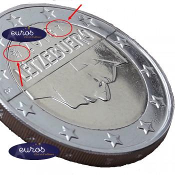 2 euros annuelle LUXEMBOURG 2019 - Poinçon le Roude Léiw