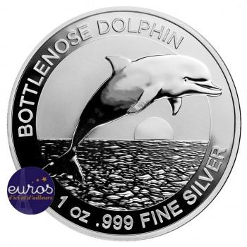 AUSTRALIE 2019 - 1$ AUD - Le Dauphin Souffleur - 1 Oz - Argent 999,99‰ - Bullion Coin