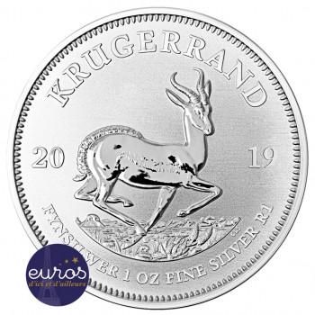 AFRIQUE du SUD 2019 - Krugerrand - 1 Oz - Argent 999,99‰ - Bullion Coin