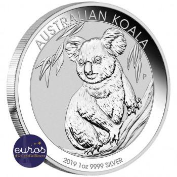 AUSTRALIE 2019 - 1$ AUD - KOALA - 1 Oz - Argent 999,99‰ - Bullion Coin