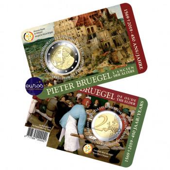 Coincard 2 euros BELGIQUE 2019 - 450 ans Pieter Bruegel l'Ancien - BU