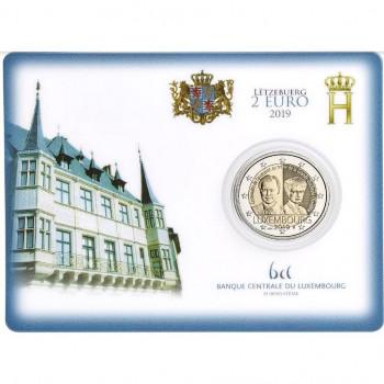 Coincard 2 euros BU Luxembourg 2019 - Grande Duchesse Charlotte