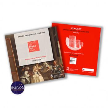 Set BU ESPAGNE 2019 - Série 1 cent à 2 euros + 2 euros commémorative Avila