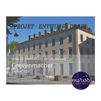 Set BU LUXEMBOURG 2019 - Ville de Grevenmacher - Différent Pont St Selve