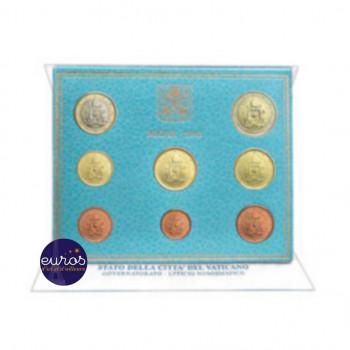 Set BU Vatican 2019 - Série 1 cent à 2 euros - Brillant Universel
