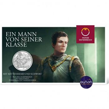 10 euros commémorative AUTRICHE 2019 - Chevalier, 825 ans de la Monnaie Autrichienne - Argent BU 925/1000