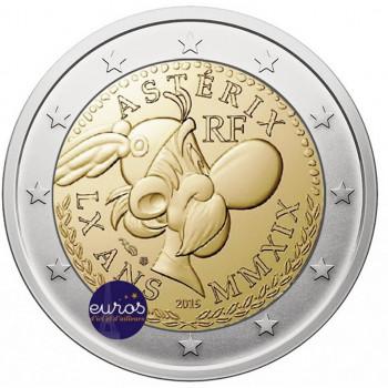 Avers de la pièce de 2 euros commémorative FRANCE 2019 - Astérix