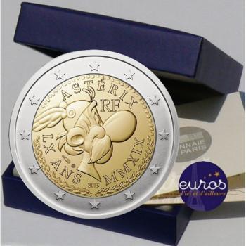 2 euros commémorative FRANCE 2019 - Astérix - Belle Epreuve