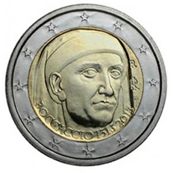 2 euros commémorative ITALIE 2013 - Boccaccio