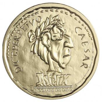 Médaille France Asterix - Jules César - Monnaie de Paris 2015
