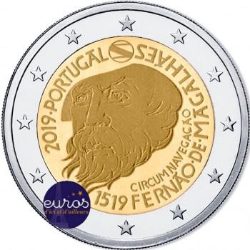 2 euros commémorative PORTUGAL 2019 - Tour du Monde de Magellan - UNC