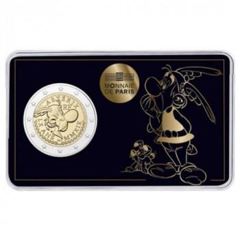Coincard 2 euros commémorative FRANCE 2019 - Astérix et Idéfix - Brillant Universel