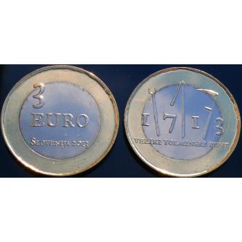 3 euros commémorative...