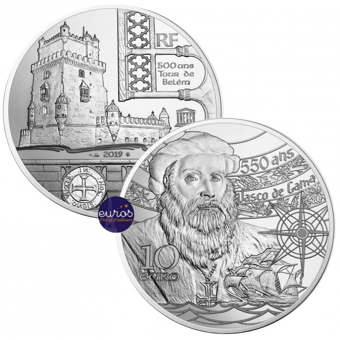 https://www.eurosnumismate.com/3245-thickbox_default/tour-de-belem-vasco-de-gama-10-euros-france-2019-argent-be-unesco.jpg