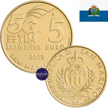 5 euros SAINT MARIN 2019 -...