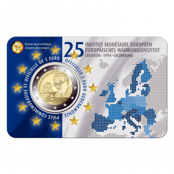 Coincard 2 euros BELGIQUE 2019 - Institut Monétaire Européen - BU