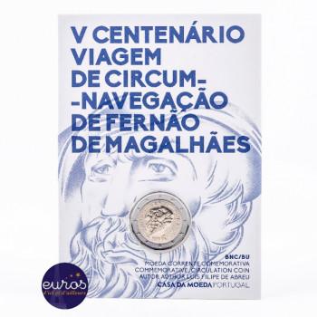 2 euros commémorative PORTUGAL 2019 - Tour du Monde de Magellan - Brillant Universel