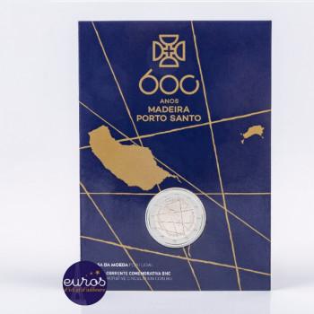 2 euros commémorative PORTUGAL 2019 - Découverte de l'île de Madère - Brillant Universel