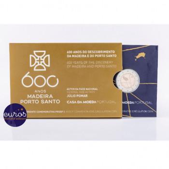 2 euros commémorative PORTUGAL 2019 - Découverte de l'île de Madère - Belle Epreuve